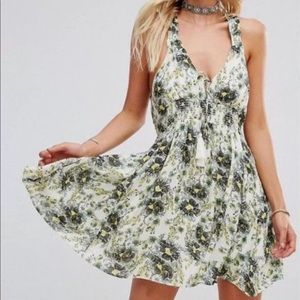 Free people washed ashore floral new dress